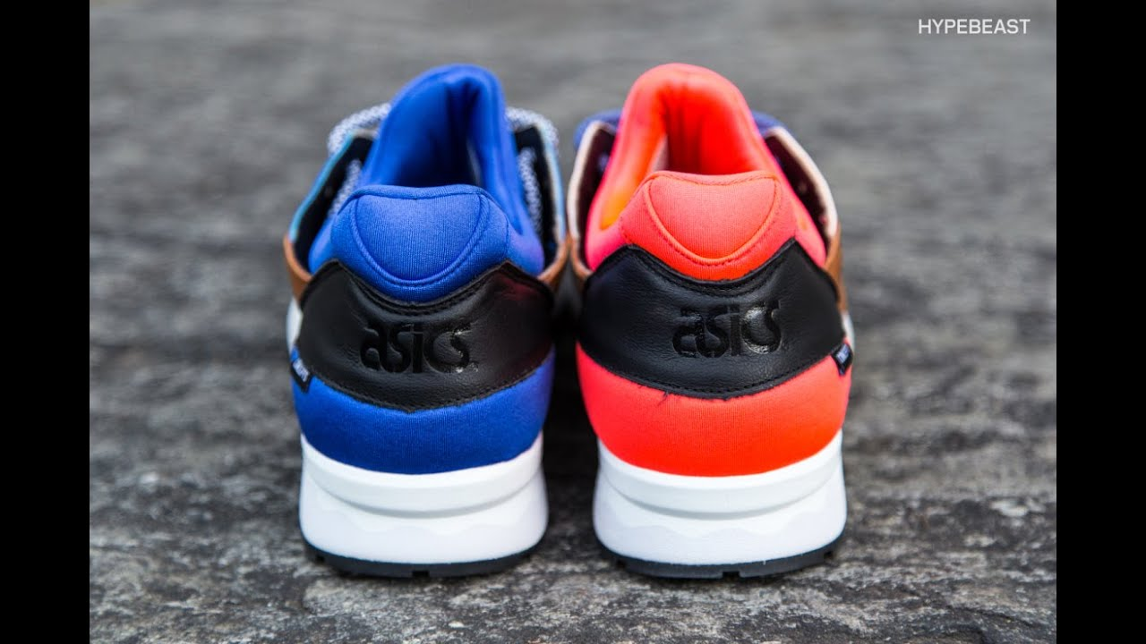 Asics X Concepts - Gel Lyte V Mix and Match - Review - YouTube dded374bd