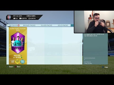THE HALF A MILLION COIN PACK!!! Fifa 16 500k Pack Opening