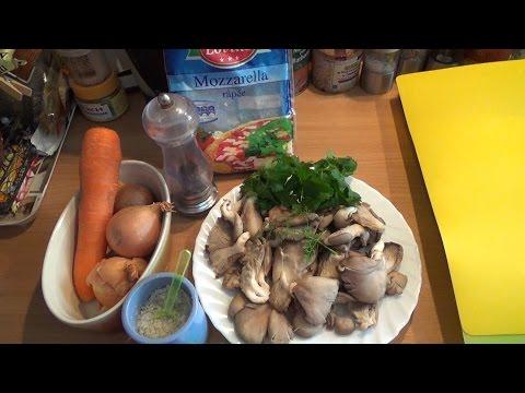 КАК вкусно приготовить ГРИБЫ Вешенки-рецепт