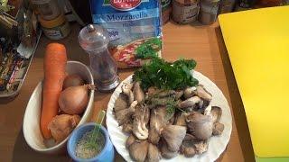 видео Грибы Вешенки - рецепты блюд, как приготовить вешенки вкусно!