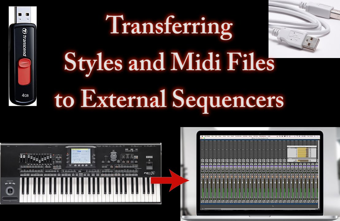 Korg Arranger Keyboards-Exporting Styles and Midi files from Keyboard to  Computer