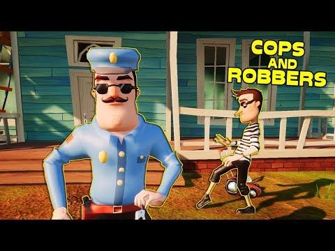 HELLO NEIGHBOR COPS