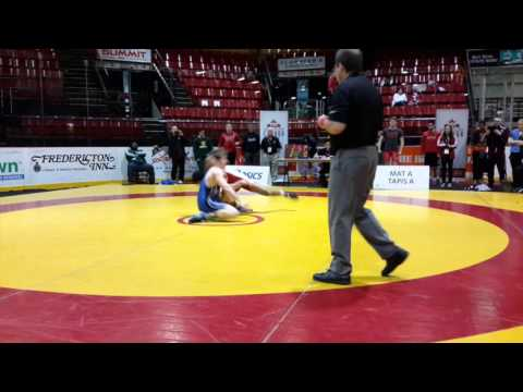 2016 Canadian Junior Championships: 74 kg Noah Erskine vs. Aidan McKeage