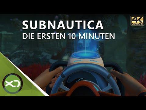 Subnautica  - Die Ersten 10 Minuten In 4K - Xbox One X Gameplay