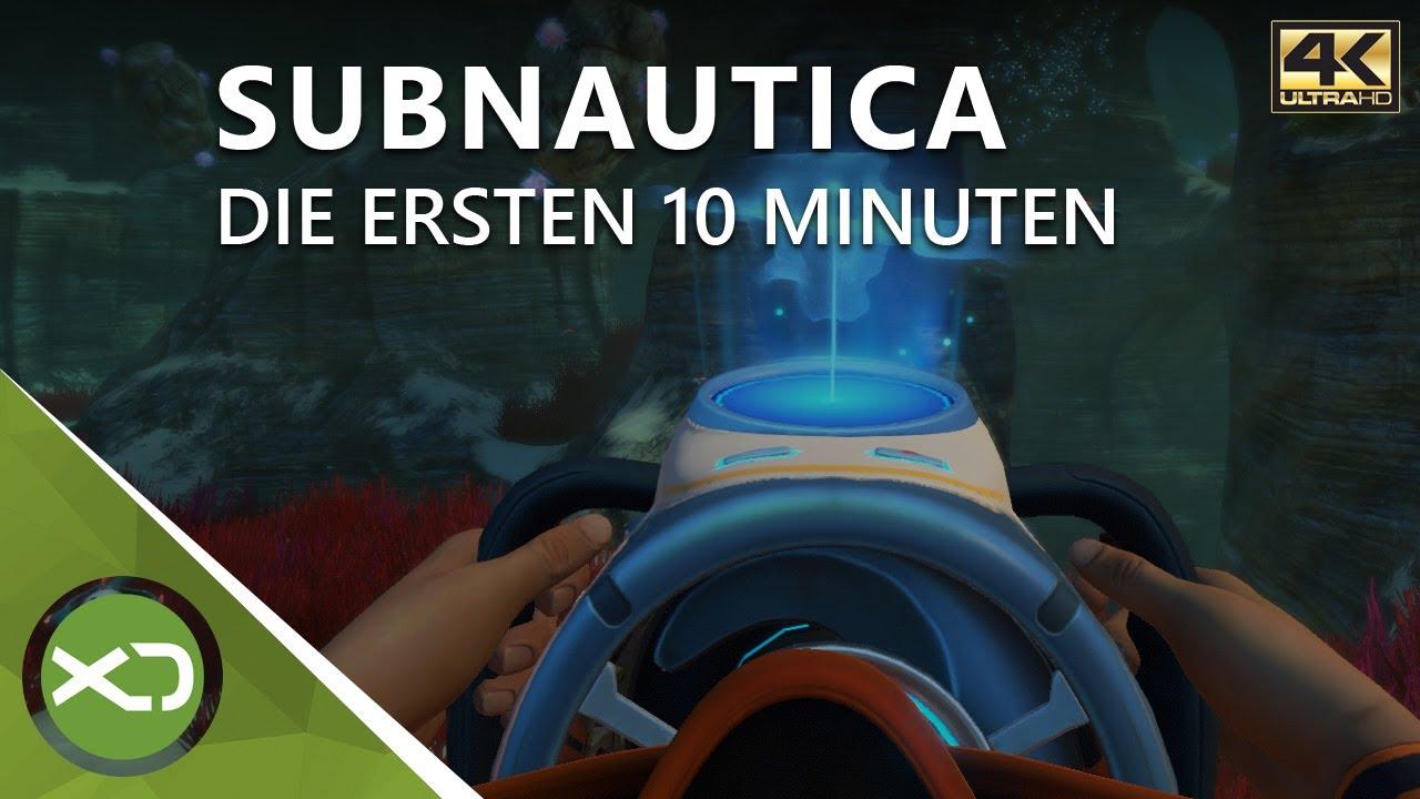 Subnautica Karte.Subnautica Die Ersten 10 Minuten In 4k Xbox One X Gameplay