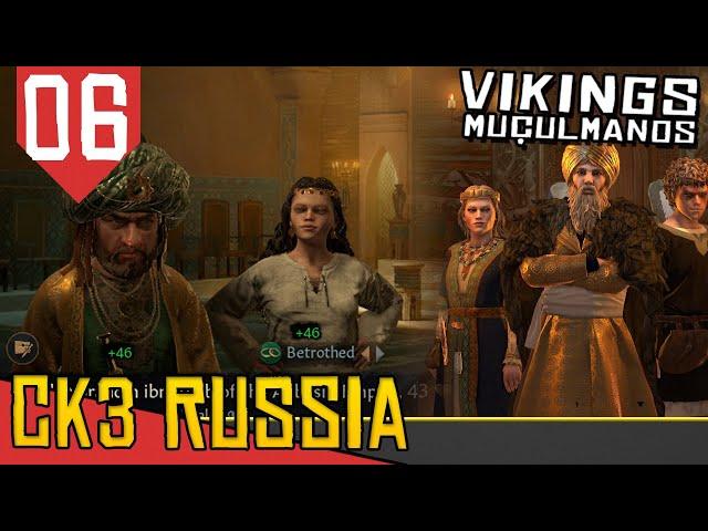 ENFIM A ISLAMIA  - CK3 3 Vikings Muçulmanos #06 [Gameplay Português PT-BR]