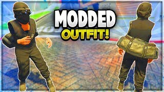 """GTA 5 Online - INVISIBLE MODDED OUTFIT Using Clothing Glitches! """"After Patch 1.43"""" (GTA 5 Glitches)"""