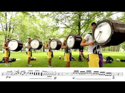 2013 Cadets Bass Line - LEARN THE MUSIC!
