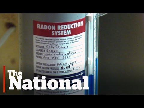 Dangerous radon gas levels