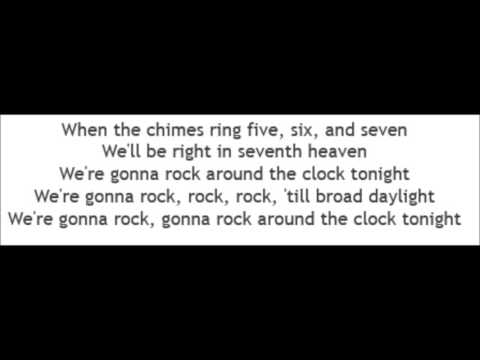 Bill Haley & His Comets - Rock Around The Clock (Lyrics)