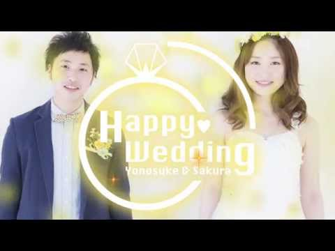 結婚式オープニングムービー [After Effects] Wedding Reception opening movie