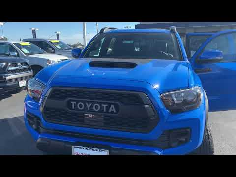 2019 Tacoma TRD PRO Cavalry Blue overview and details of 2020 Tacoma refresh!!!