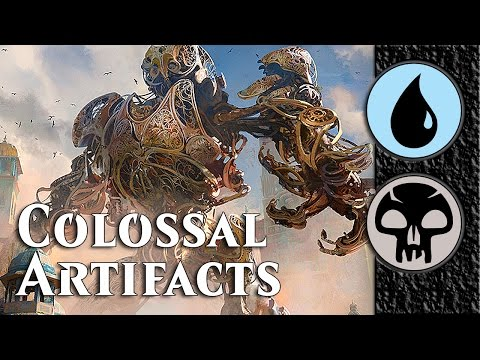 Magic Duels KLD 4. Dimir ** Colossal Artifacts **