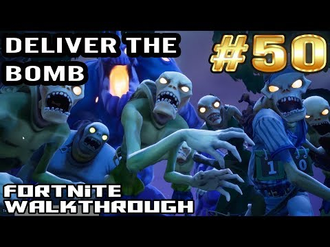 Fortnite Walkthrough #50 - Deliver The Bomb | Plankerton | Tank Penny
