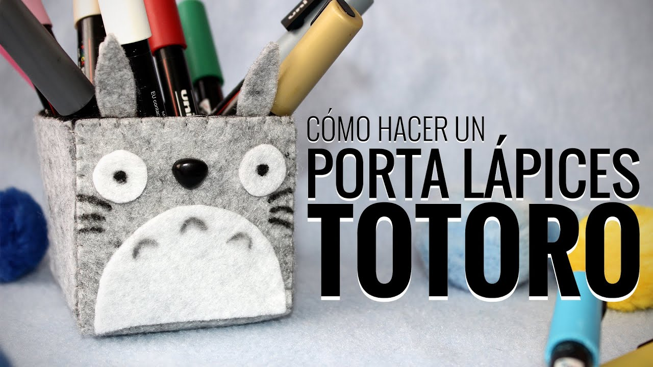 Manualidades con fieltro c mo hacer lapicera de totoro for Ideas y mas decoracion