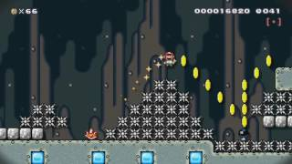 Super Mario Maker - One Minute or Peach Gets It [Speedrun level by GdaTyler]