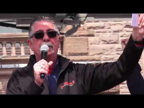 Chris Buckley Speech at No Education Cuts Rally, Toronto, Ontario, Canada-April 6, 2019