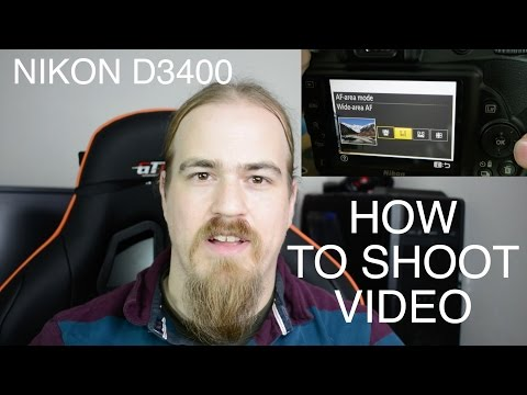 How To Shoot On Nikon D3400