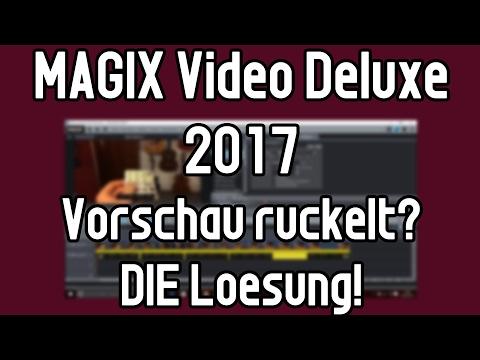 MAGIX Video Deluxe Vorschau ruckelt? Hier ist die Lösung! Vorschaureindering Tutorial
