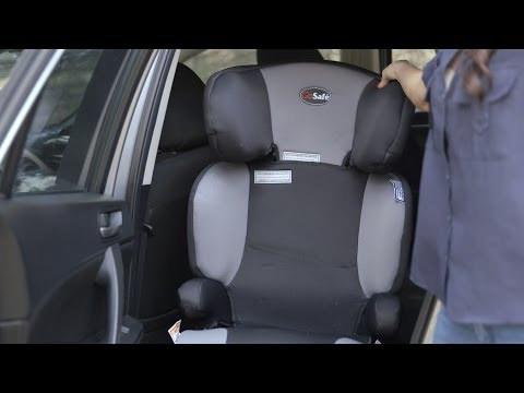 Fitting A Child Booster Seat