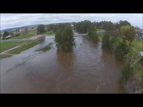 """Wambool"" The Macquarie River Bathurst NSW filmed by Sky Eye UAV Solutions"