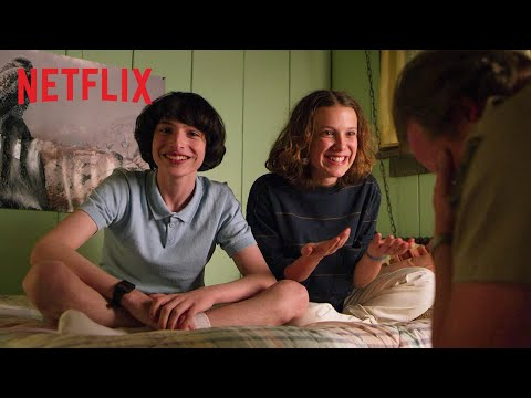 Stranger Things   Nepovedené záběry z 3. řady   Netflix