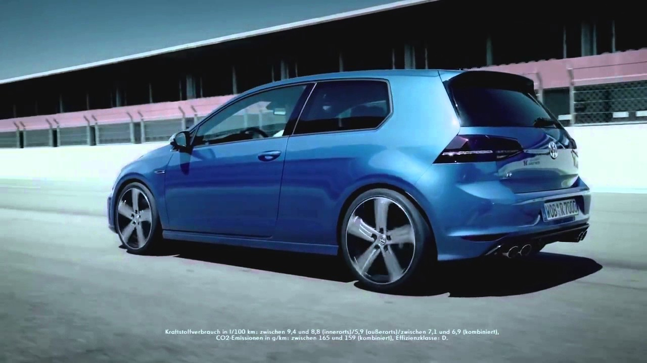 volkswagen golf 7 r commercial the lucky one vag youtube. Black Bedroom Furniture Sets. Home Design Ideas