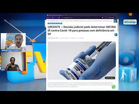 Ação Civil Pública quer Vacinação Já para PcD contra Covid-19