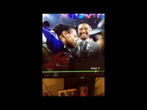 Super Bowl 51, Willie McGinest drops MFers and b**tch on live tv