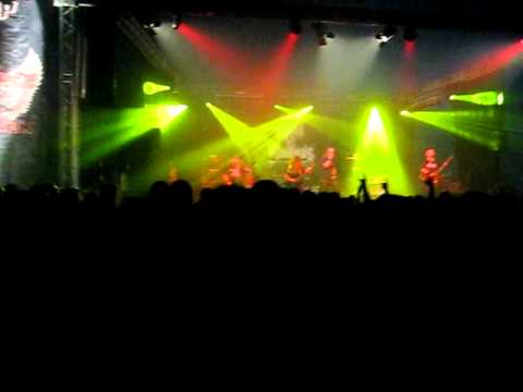 Hail of Bullets -Advancing once more live @ summerbreeze 2010 [HQ]