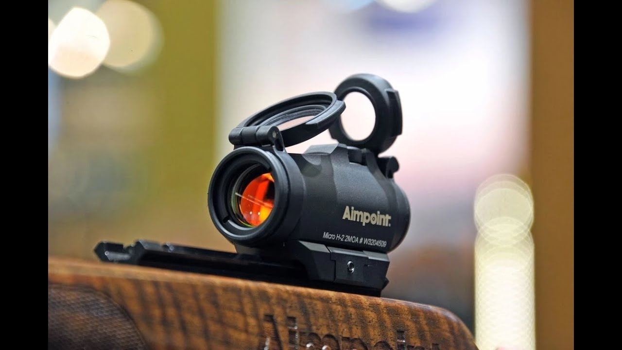 Aimpoint Micro H2 Red Dot Sight At Iwa 2015 Youtube