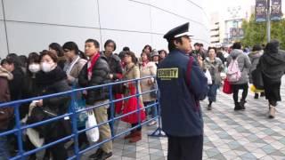ドリカムワンダーランド2015東京ドーム二日目入場ゲート前の様子DREAMS COME TRUE