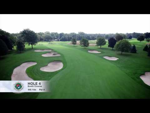 Hole 4 | South Course | Oakland Hills Country Club | Bloomfield Hills, MI