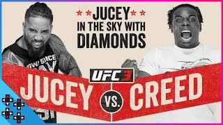 UFC 3: JEY USO vs. AUSTIN CREED: JUCEY IN THE SKY with DIAMONDS! - Gamer Gauntlet