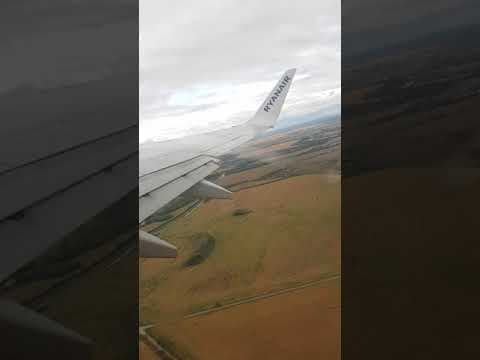 Take off from Bratislava Airport