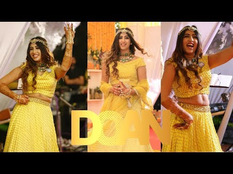 Mehendi Performance with Dolcy |  DOAN Wedding | Simran Bhatia