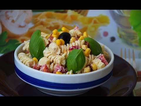 Cold Pasta Salad - Hladna salata sa tjesteninom - Sašina kuhinja
