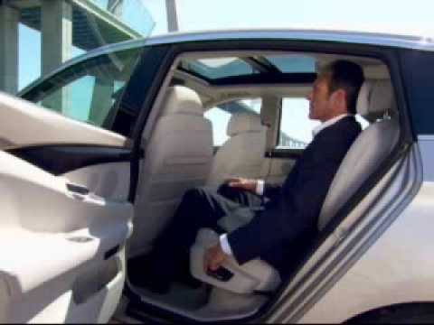 BMW 5 Series GT Interior - YouTube