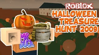 Roblox - CHASSE au trésor d'Halloween ROBLOX 2009 - Ducktober