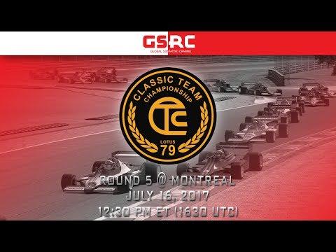 Classic Lotus Grand Prix - 2017 S3 - Round 5 - Montreal