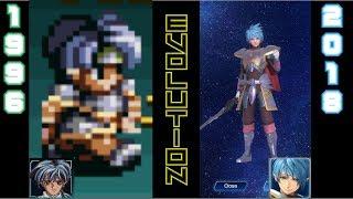 Evolution of Star Ocean Games 1996-2018