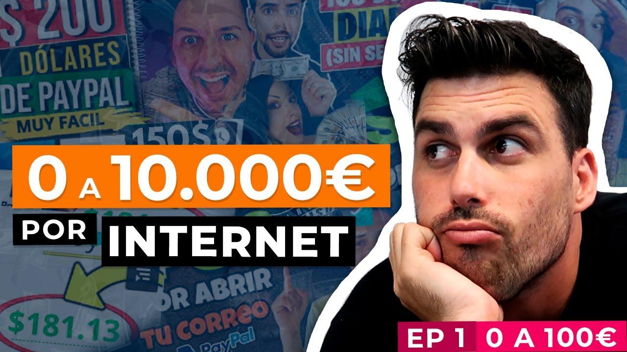 Voy a probar convertir 0€ en 10.000€ por Internet | Parte 1