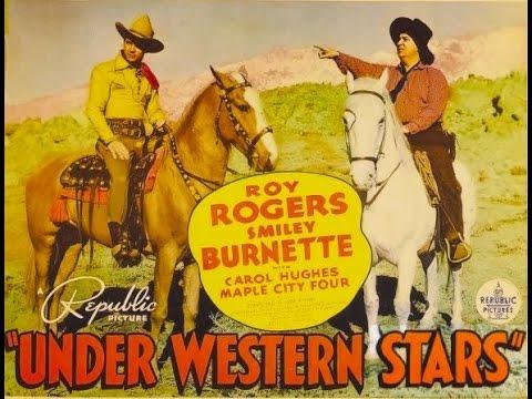 Under Western Stars Full Length Western Movie starring Roy Rogers UNCUT VERSION