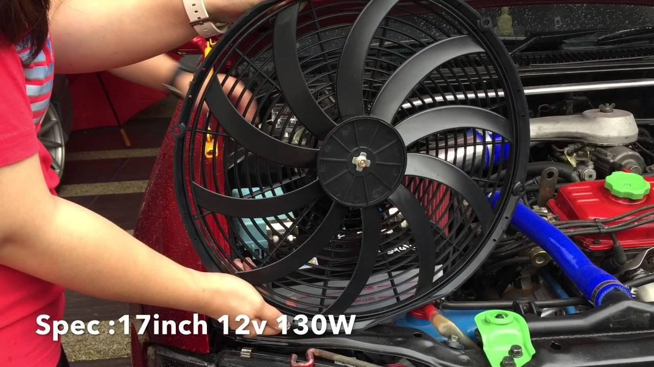 Turtle Factory - High Speed Radiator Fan
