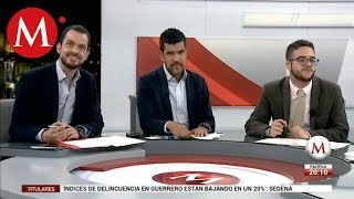 Primer Informe de AMLO: Paul Ospital, Abraham Mendieta y Juan Pablo Adame