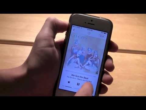 iTunes Radio for iOS 7 Demo (iRadio)