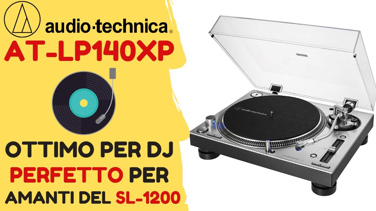 Tappetino da DJ per giradischi Technics