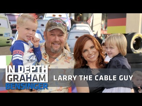 Larry the Cable Guy: Marriage changed my jokes