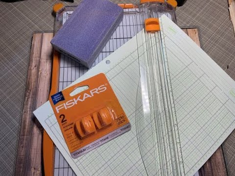Sharpening Paper Trimmer Blade EASY How To!!!!