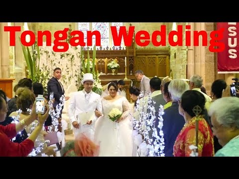 Best Wedding entrance ever  | Zaffet  Lebnen  | Tongan Wedding | Introducing Mr and Mrs Hola 2018